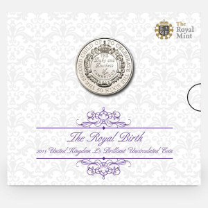 New £5 Released by The Royal Mint to Celebrate the Birth of Princess Charlotte